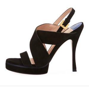 Stuart Weitzman Shoes - Stuart Weitzman Hester Strap Sandal NWOT $475